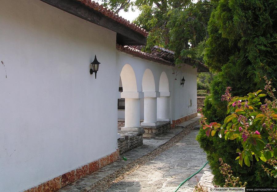 В резиденции королевы Румынии в Балчике