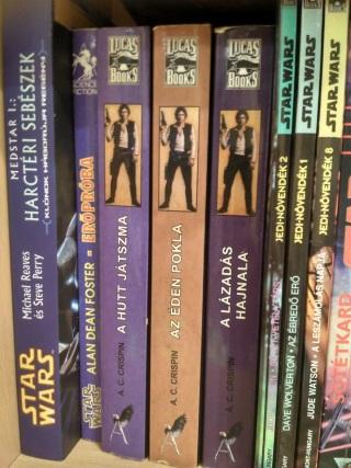 Demeterné D. Viktória Star Wars könyvespolc 2.