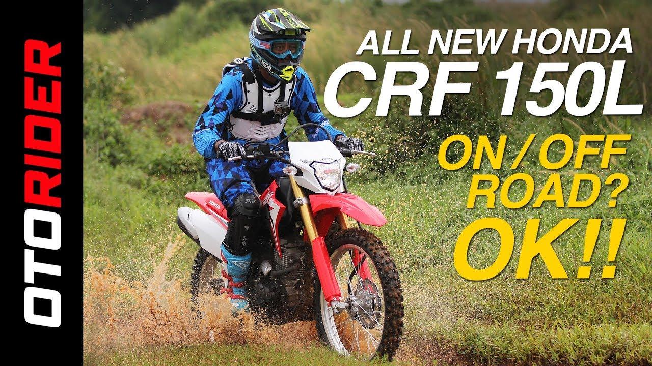 10 Gambar Motor Grass Track Honda CRF 150L Baru Dipamerkan Bulan Ini