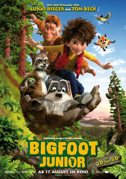 Rejoice Kids Were Having A Three Day Animated Movie Weekend First New Trailers For Two Of This Years Adventures THE SON OF BIGFOOT Should