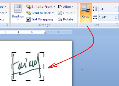 Cara Scan dan Edit Tanda-tangan di Word Agar Transparan ...