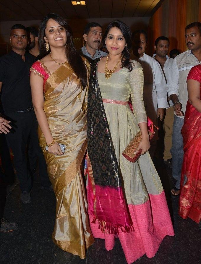 TV Anchor Anasuya Rashmi At Shyam Prasad Reddy Daughter Wedding