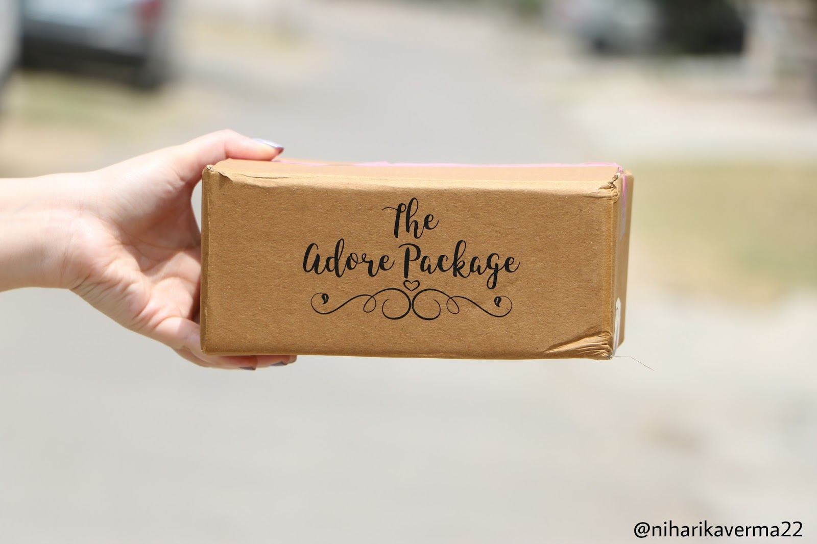 The Adore Package Beauty Box
