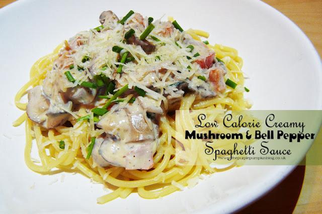 Low Calorie Creamy Mushroom