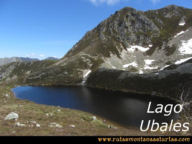Ruta Les Rapaines, Lago Ubales, Cascayón: Lago Ubales