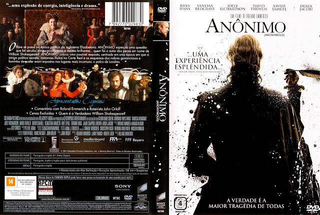 Capa DVD Anônimo