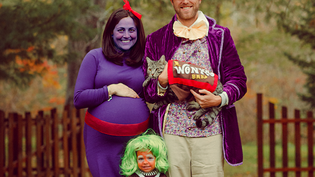 funny halloween costume ideas for baby bump