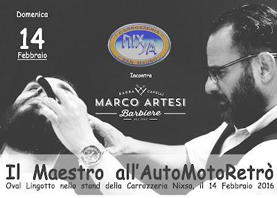 Marco Artesi Barbiere - Stand Nixsa Automotoretrò 2016