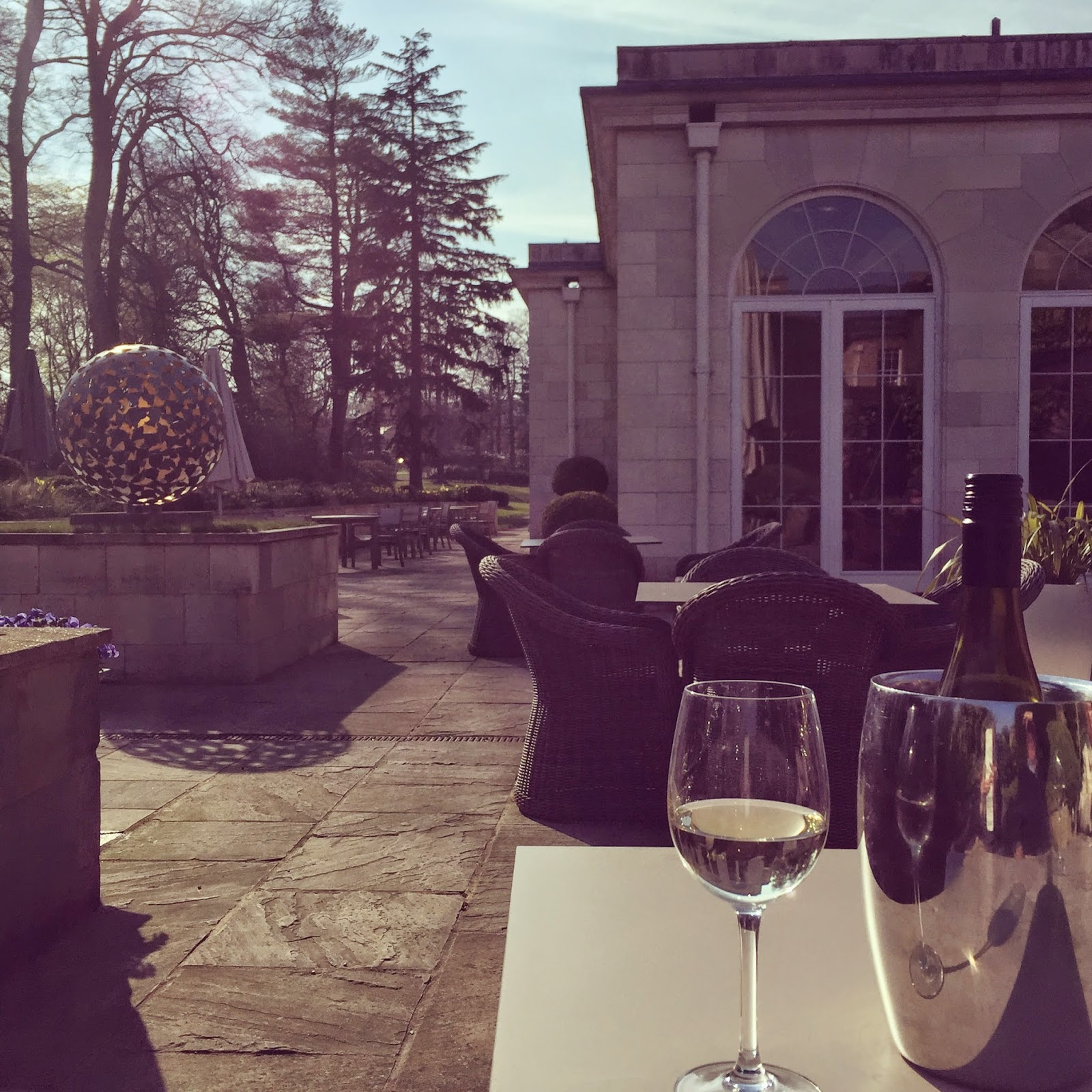 Patio, Rudding Park Hotel, Harrogate