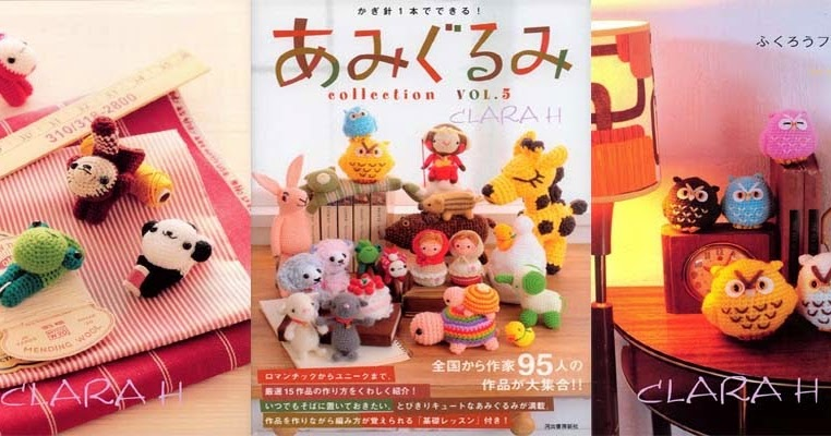 Amigurumi Collection Magazine Download : Free Download Japanese Craft / DIY Book and Magazine Scans ...