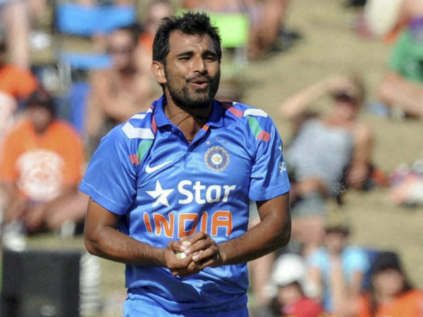 Mohammad Shami missed out on IPL 2015 - Shami 2.2 crore for loss of pay in IPL