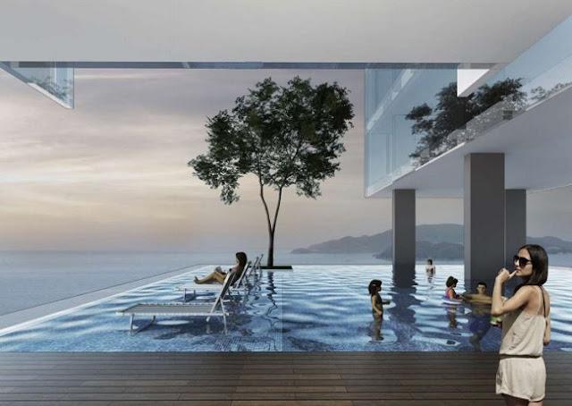 Bể bơi Căn hộ khách sạn Condotel