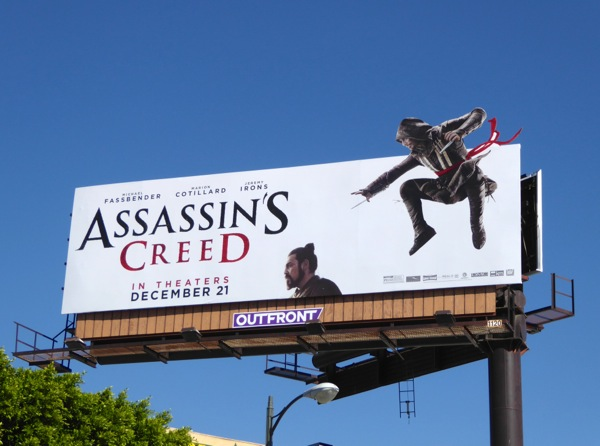 Assassins Creed special movie billboard
