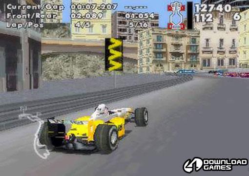 لعبة سباق عربيات فورمولا 1 warm up خفيفة للكمبيوتر