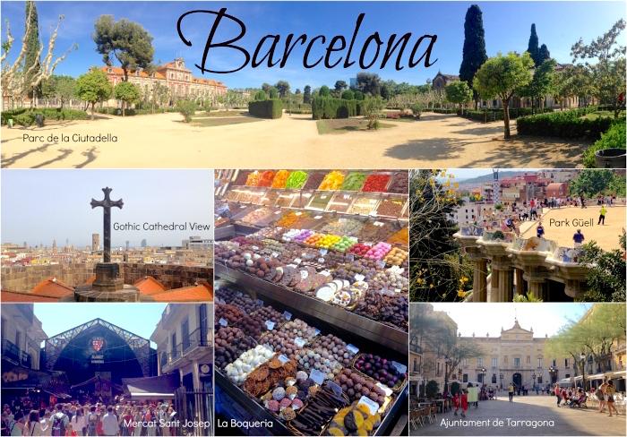 what to do in barcelona - Parc de la ciutadella, gothic cathedral, mercat sant josep la boqueria, ajuntament de tarragona, park guell