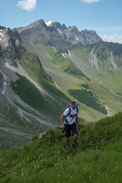 Fürstin-Gina-Weg  Augstenberg und Pfälzerhütte  Wandern in Liechtenstein 11