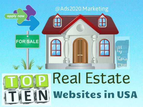 What are top 10 most popular real estate websites in usa for Best house buying websites