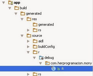 Android Studio, R.java