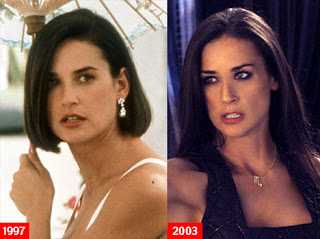 Demi Moore Plastic Surgery Before and After Nose Job and ...