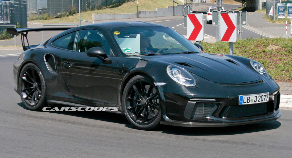 Porsche 911 GT2 RS Appears At Goodwood