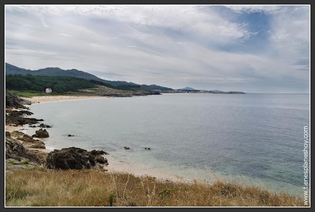 Playa Castro de Baroña