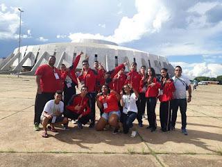 Baraúna representada nos jogos Escolares Brasileiros na capital Federal