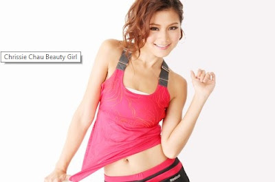 Chrissie Chau Artis Dan Model China Tercantik
