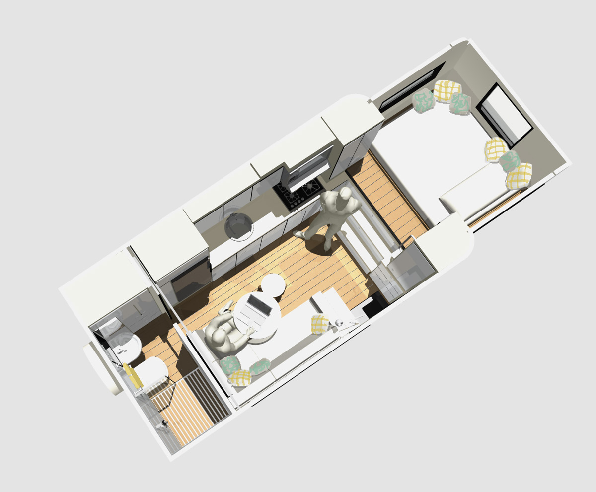 Mcm design custom motorhome design 2 for Custom home layouts