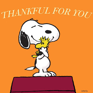 Snoopy: Thankful For You!