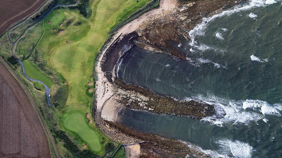 30. Kingsbarns, Scotland - 50 Stunning Aerials That Will Make You See the World in New Ways (PHOTOS)