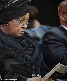 article 2524000 1A1DE48100000578 895 470x573 Photos from Nelson Mandelas funeral