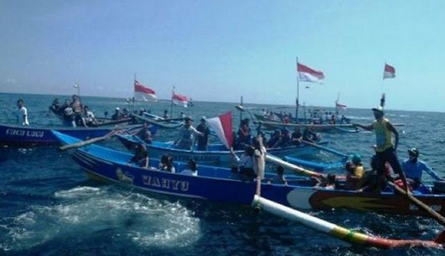 Gelombang Tinggi Masih Terjadi di Selat Makassar