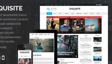 Nulled Exquisite v1.3.3 – Ultimate Newspaper Theme