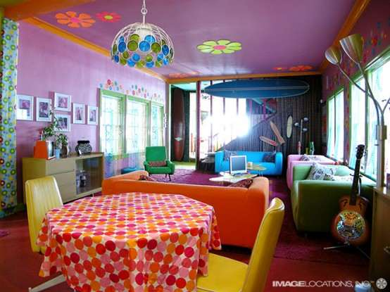 Interiores coloridos estilo hippie ideas para decorar for Decoracion casa hippie