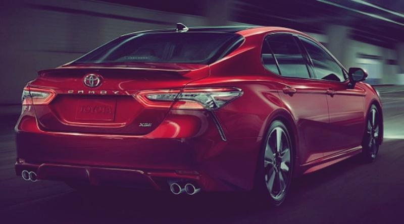 2018 Toyota Camry V6, Hybrid and Price