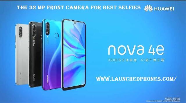 Huawei Nova 4e or Huawei P30 Lite