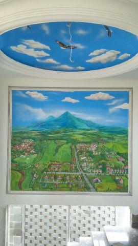 jasa mural awan