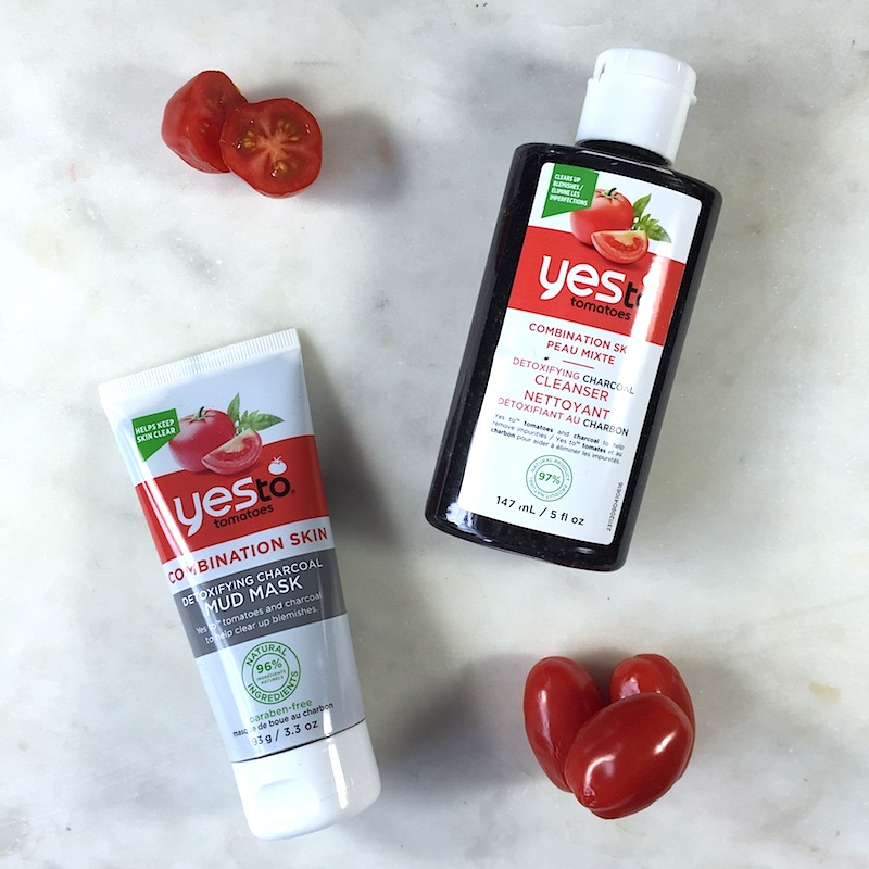 Yes to Tomatoes Detoxifying Charcoal Cleanser: A quick review