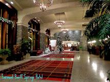 Inside Fairmont Banff Springs Hotel