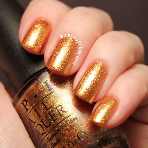 2012 OPI Skyfall Collection: Goldeneye