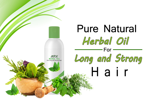 Natural herbal oil and shampoo for hair growth