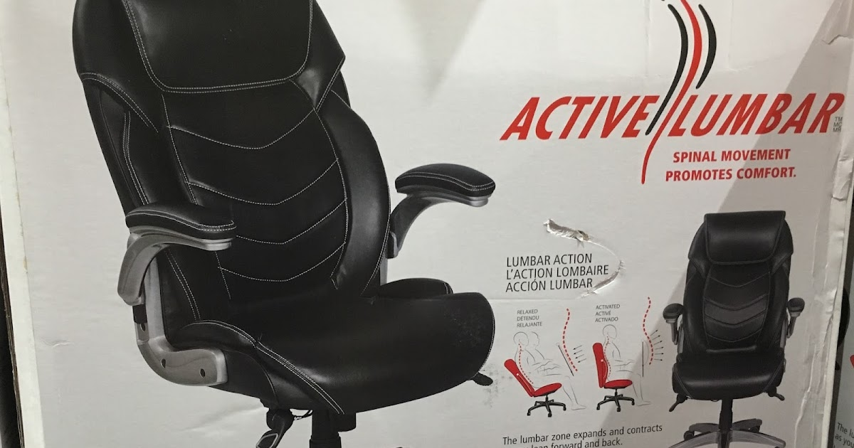 costco swivel chair expensive dining chairs true innovations wellness active lumbar | weekender
