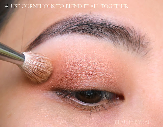 Colourpop Peachy Keen Eyeshadow Quad Makeup Tutorial and Review