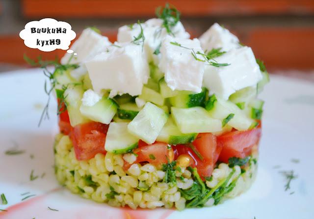 Приготовление салатов и их фото