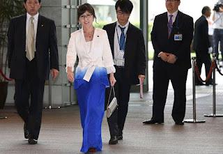 Defense Minister Tomomi Inada