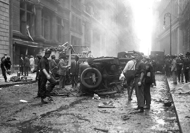 O atentado de Wall Street, 1920