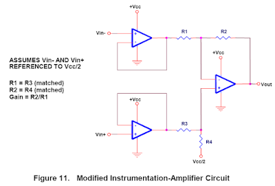 Modified Instrumentation Amplifier