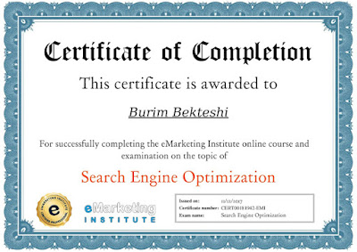 Search Engine Optimization by eMarketing Institute