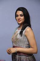 Sakshi Chaudhary Beautiful Emroidery Work Sleeveless Anarkali Dress 031.JPG