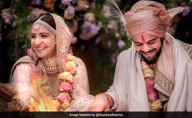 Anushka Sharma And Virat Kohli Are Married. See Wedding Pics And Exclusive Video